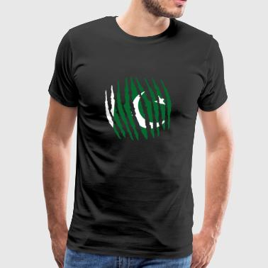 Claw Claw Homeland Origin Pakistan png - Men's Premium T-Shirt