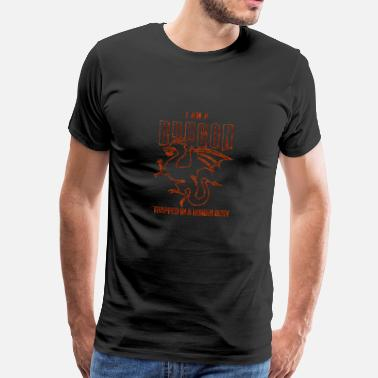 Dragons Catalans Dragons - Dragon - Dragon - Dragon - Humain - T-shirt Premium Homme
