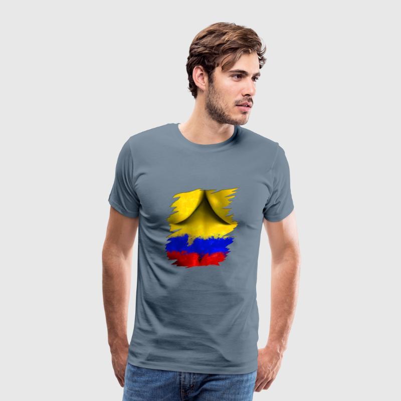 Coupe du Monde Déchiré Tee Shirt Body Femme Colombie de Moondey ... e08183e0430