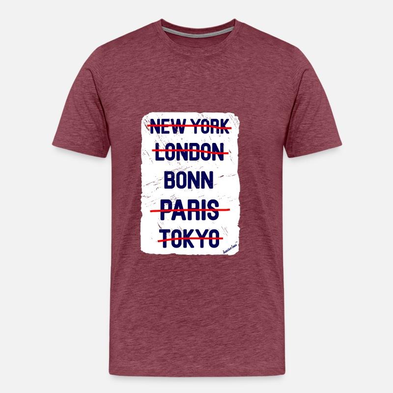 NY London Bonn..., Francisco Evans ™ von Cairaart TM | Spreadshirt