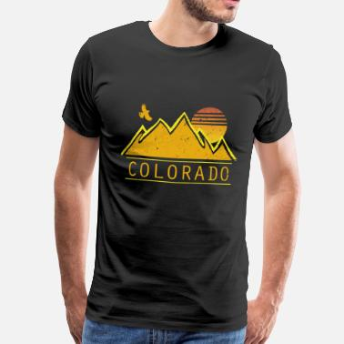 Staat Colorado - Männer Premium T-Shirt