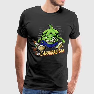 Hops Cannibal Craft Beer Hobby Brewer Cool - Premium-T-shirt herr