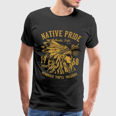 American Native American Indians - Men's Premium T-Shirt