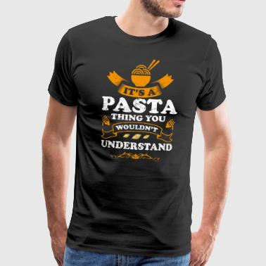 Spaghetti Noodle addicted spaghetti fan lover - Men's Premium T-Shirt