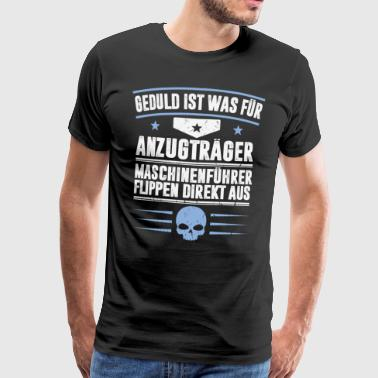 MACHINE OPERATOR - Men's Premium T-Shirt