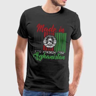 Afghanistan Afghanistan barcode - Men's Premium T-Shirt