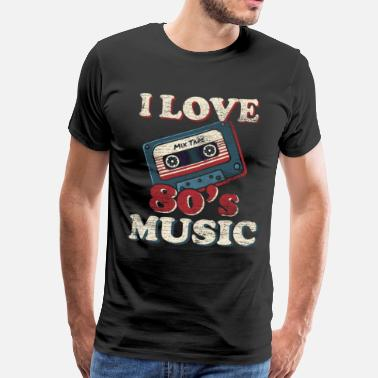 Culture Music cassette gift idea musical instrument 80s - Men's Premium T-Shirt