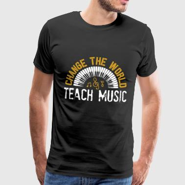 Music musician musical instrument music club gift - Men's Premium T-Shirt