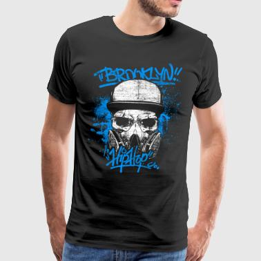 Hip Hop Brooklyn New York - Herre premium T-shirt