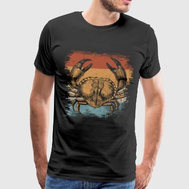 Crab crustacean sea creatures gift animal - Men's Premium T-Shirt