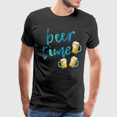 Beer Time - Männer Premium T-Shirt