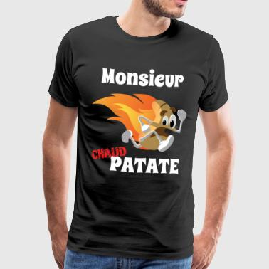 Monsieur chaud Patate - T-shirt Premium Homme