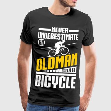 Cycling Opa Cycling Opa - Männer Premium T-Shirt