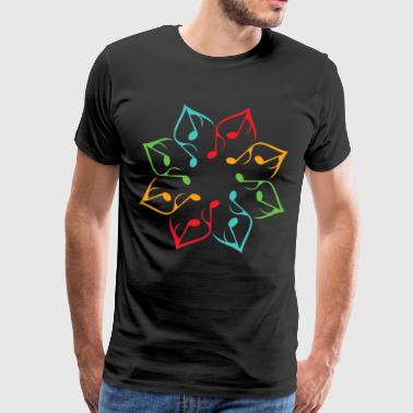 Music Flower - Men's Premium T-Shirt