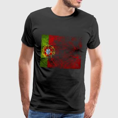 Cadeau de football national Portugal Lisbon Fierté - T-shirt Premium Homme