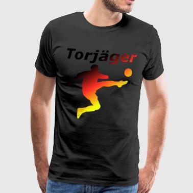 Torjaeger noir-rouge-or - T-shirt Premium Homme