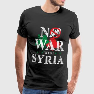 Syria flag country Patriot Middle East war - Men's Premium T-Shirt
