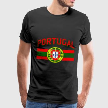 Portugal flag - Herre premium T-shirt