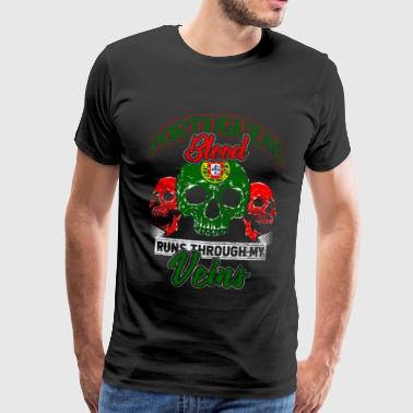 Portugal Lisbon Porto Portuguese beach blood - Men's Premium T-Shirt