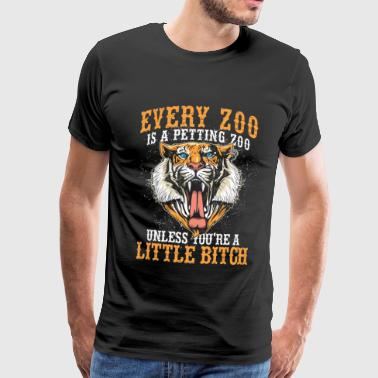 Zoo animal Zoo Zoo animal keeper - Men's Premium T-Shirt