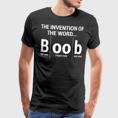Funny Invention Boob Joke T-shirt - Men's Premium T-Shirt
