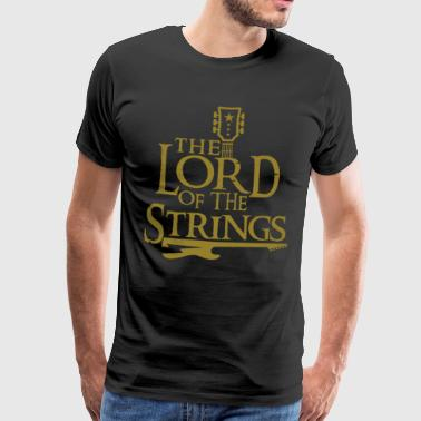 The Lord of the strings - guitar gift idea - Men's Premium T-Shirt