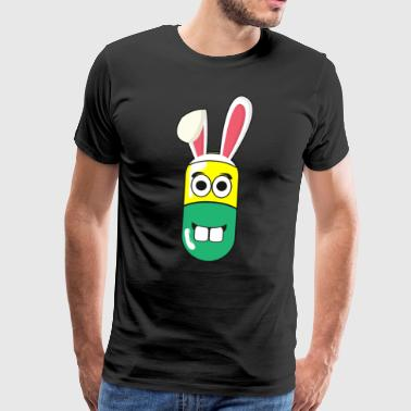 MFA nurse drug easter bunny easter - Men's Premium T-Shirt
