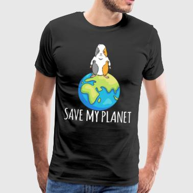 Guinea Pig Earth Day Gift Environment - Mannen Premium T-shirt