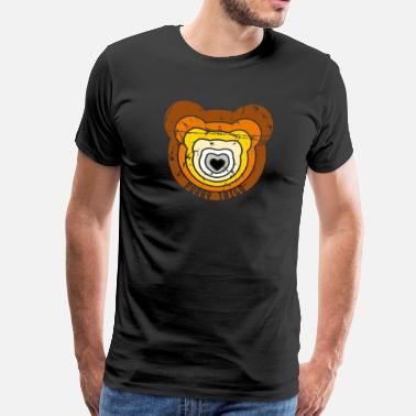 Coming Out BearZoom - T-shirt Premium Homme