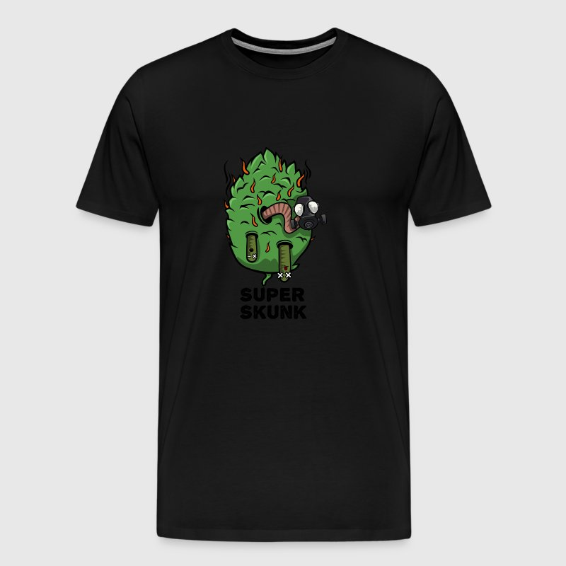 Super Skunk Marijuana Bud - Men's Premium T-Shirt