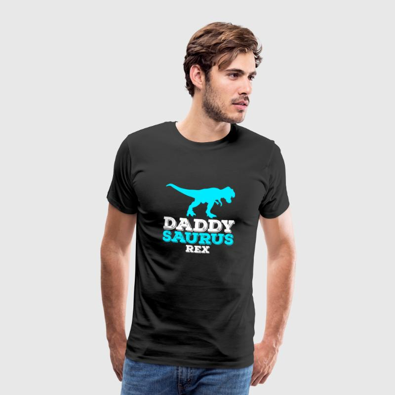 Daddysaurus Father's Day Father's Day Dad Gift - Men's Premium T-Shirt