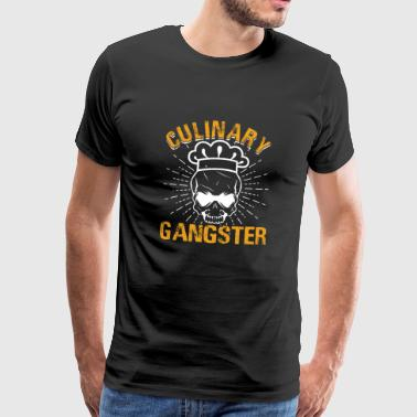 Gangster culinaire - T-shirt Premium Homme