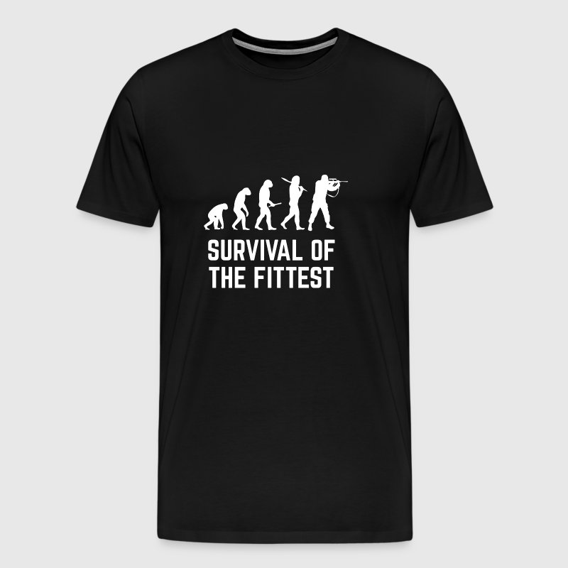 The survival of the strongest! - Gift - Men's Premium T-Shirt