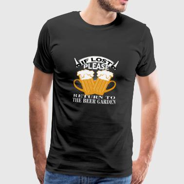 Back to the beer garden - Men's Premium T-Shirt