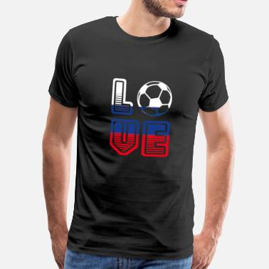 Summer Fairy Tale I Love Russia - Summer Fairy Tale 2018 - Football - Men's Premium T-Shirt