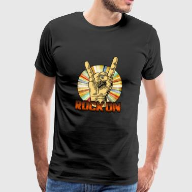 Rock on - Men's Premium T-Shirt