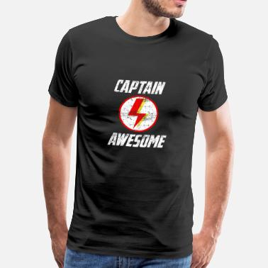 Vintage Awesome Capitán Awesome Vintage Design - Camiseta premium hombre
