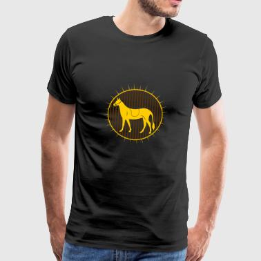 Horse riding Horsewoman Horse gift Horse riding - Men's Premium T-Shirt