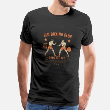 Reklamer Box club - Herre premium T-shirt