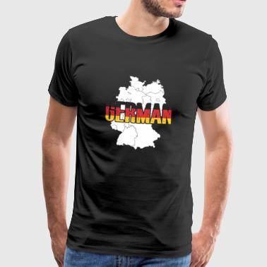German - Men's Premium T-Shirt