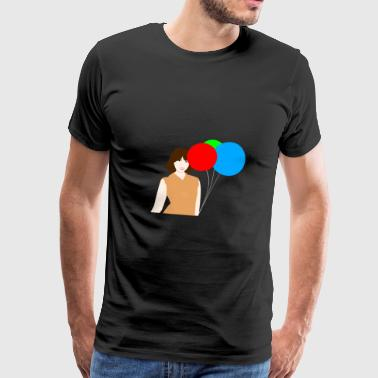 Party ( Luftballon ) - Männer Premium T-Shirt