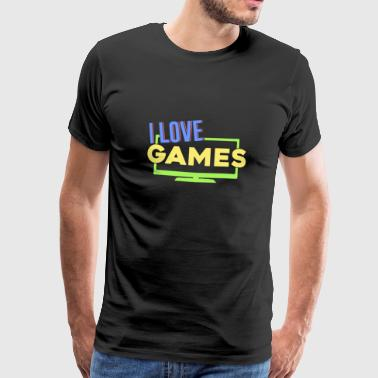 Gamer Gaming Geek Clan gokken - Mannen Premium T-shirt