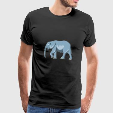 Mammal elephant mammal great jumbo gift idea - Men's Premium T-Shirt