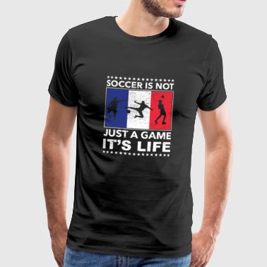 Football France champion coup franc - T-shirt Premium Homme