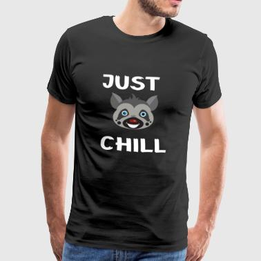 Lemurs just want to chill out. - Men's Premium T-Shirt