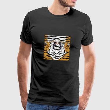 Deep jungle - tiger - Men's Premium T-Shirt