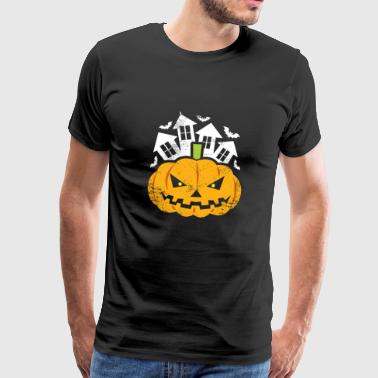 Halloween pumpkin gift costume kids - Men's Premium T-Shirt