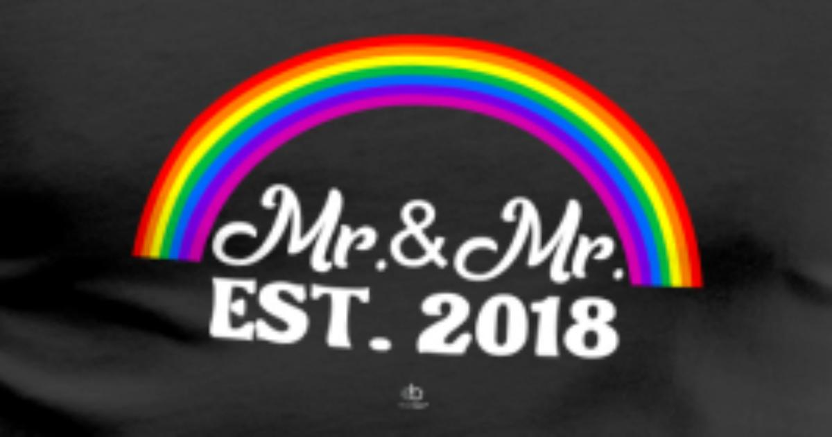 Mr and Mr Homosexuell LGBT Schwule Gay Geschenk von EBENBLATT ...