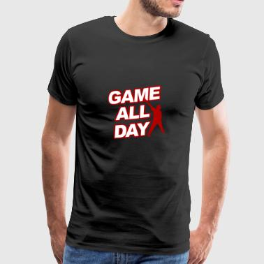 gamer - Premium T-skjorte for menn