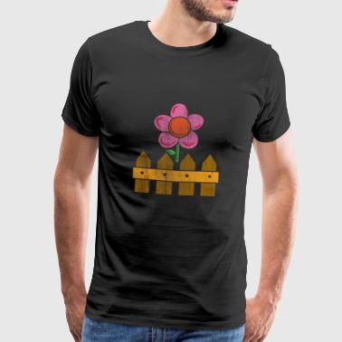 garden flower - Men's Premium T-Shirt